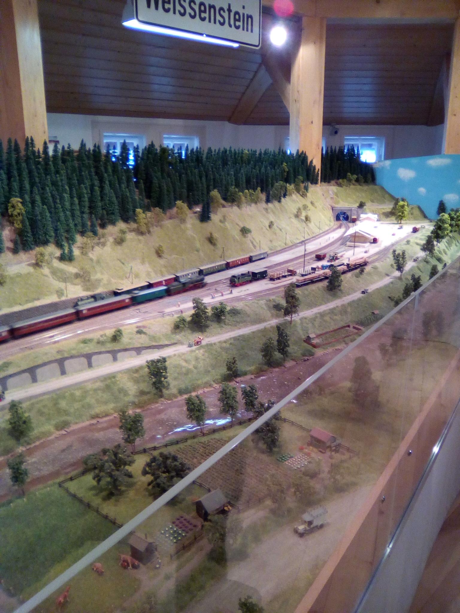 Modelleisenbahn H0-Anlage